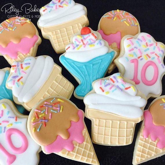 Galletas de helado   – Riley Bakes