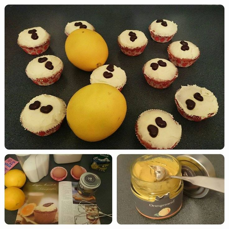 Orangensenf Cupcakes von Münchner Kindl Senf bei Pimprenelle Mary