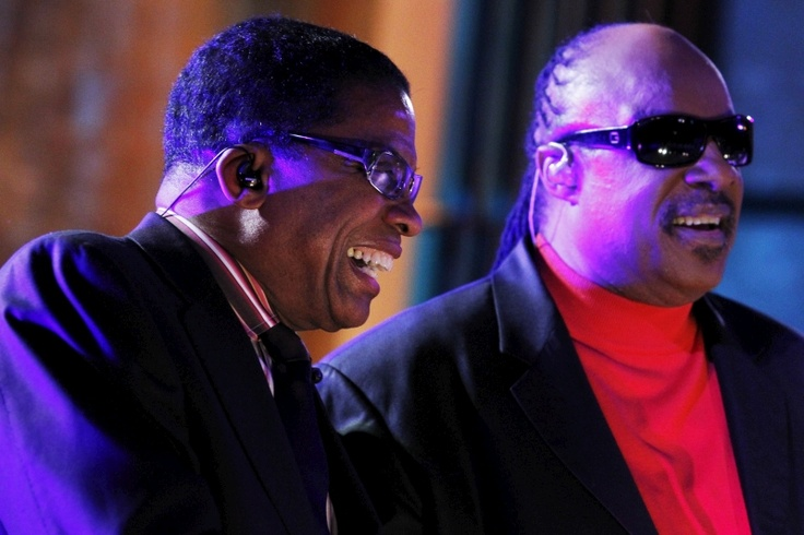 Херби Хэнкок и Стиви Уандер. Herbie Hancock and Stevie Wonder
