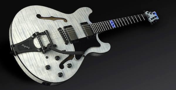 Devin Townsends Warwick & Framus Mayfield Custom