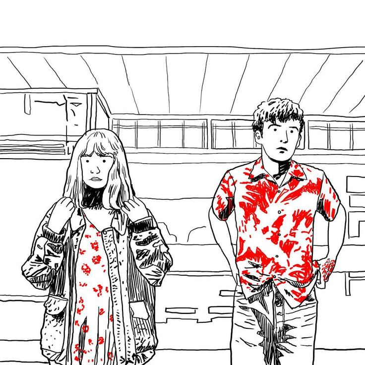 "91.6k lượt thích, 340 bình luận - The End of the F***ing World (@teotfw) trên Instagram: ""James and Alyssa's real dad blessed us with some art."""
