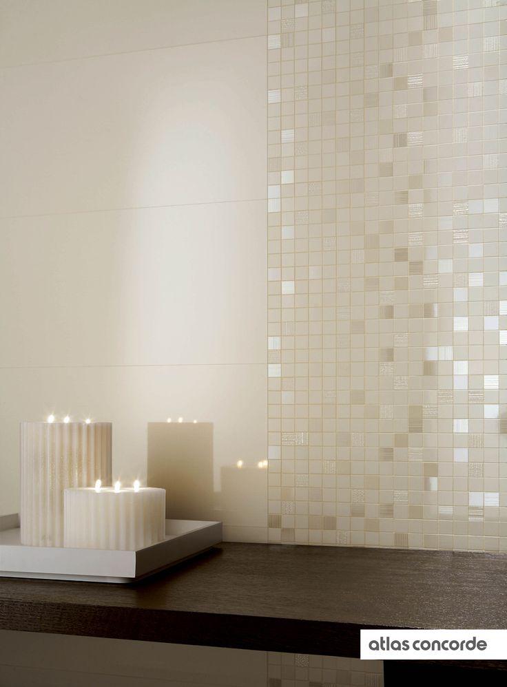 #ADORE ivory | #Mosaic | #AtlasConcorde | #Tiles | #Ceramic