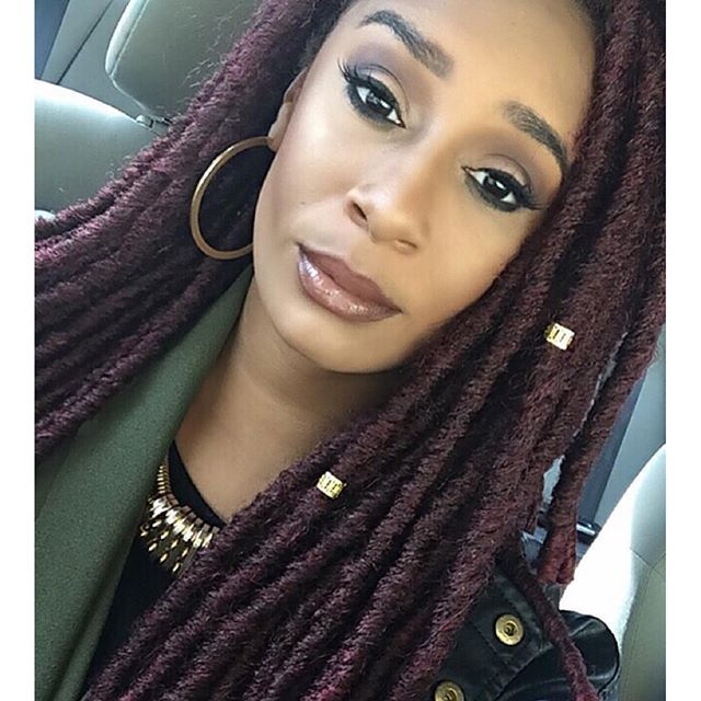 @signedgorgeous in Bobbi Boss Bomba Dreadlocks Faux Locs ...