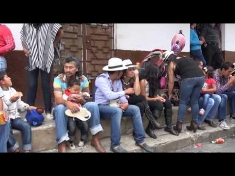 Apartes del Festival de la Guabina y el Tiple en Velez, Santander.