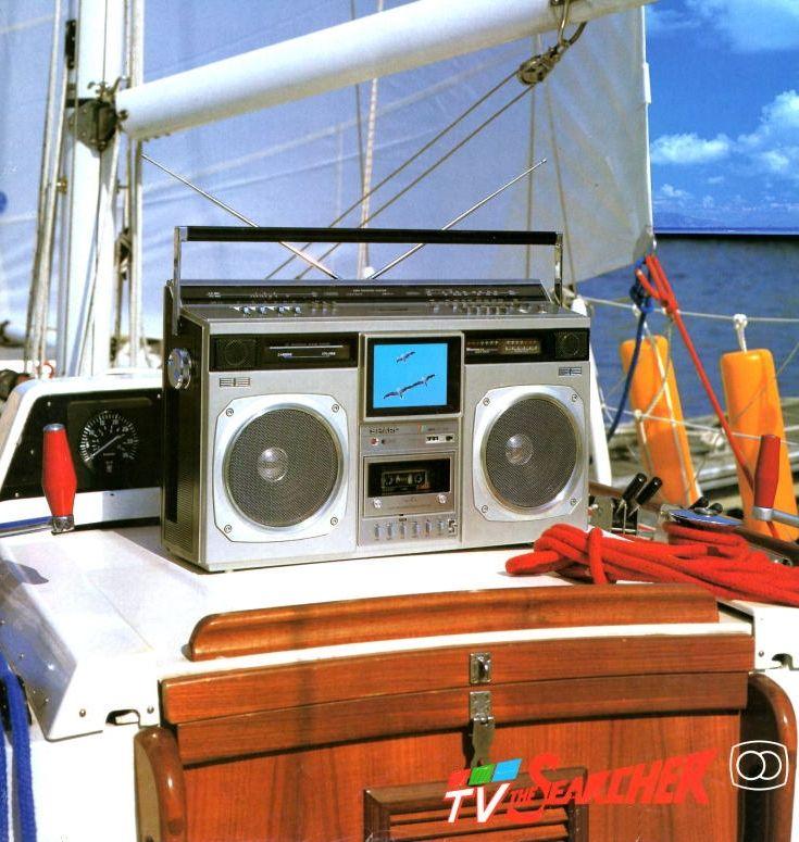 Waiting for Cousteau SHARP CT-6001 www.1001hifi.com