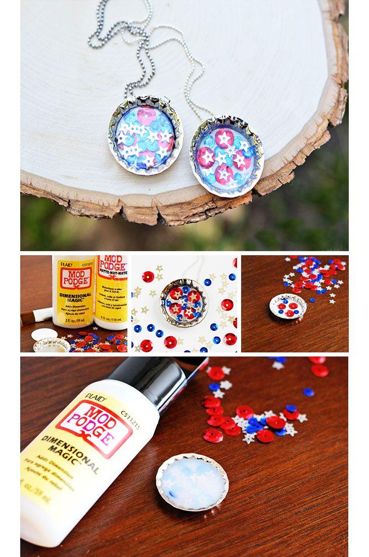 19 diy summer crafts for kids to make bottle cap for Crafts to do with bottle caps