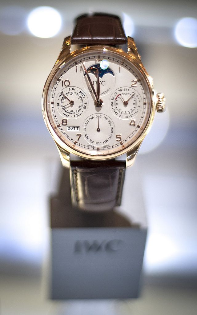 The impeccable IWC Portuguese Perpetual Calendar. In courtesy of DryHeatPanzer. Follow us on TUMBLR and INSTAGRAM!