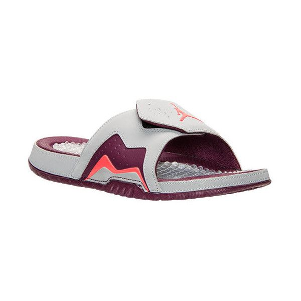 cf84508ce ... Mens Jordan Hydro 7 Retro Slide Sandals (40) ❤ liked on Polyvore  featuring mens ...