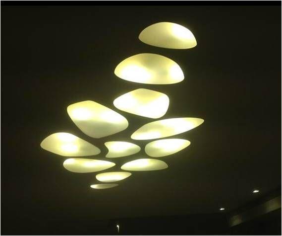 תאורה נסתרת בגבס   גופי תאורה שקועים בגבס