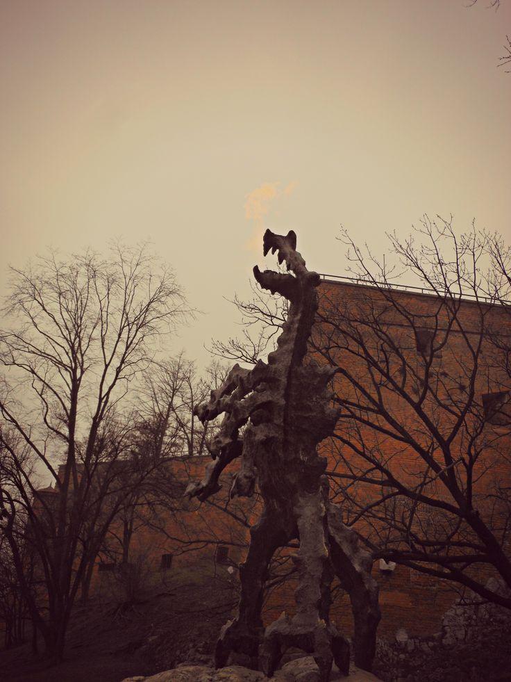 Statua del Drago del Wawel.