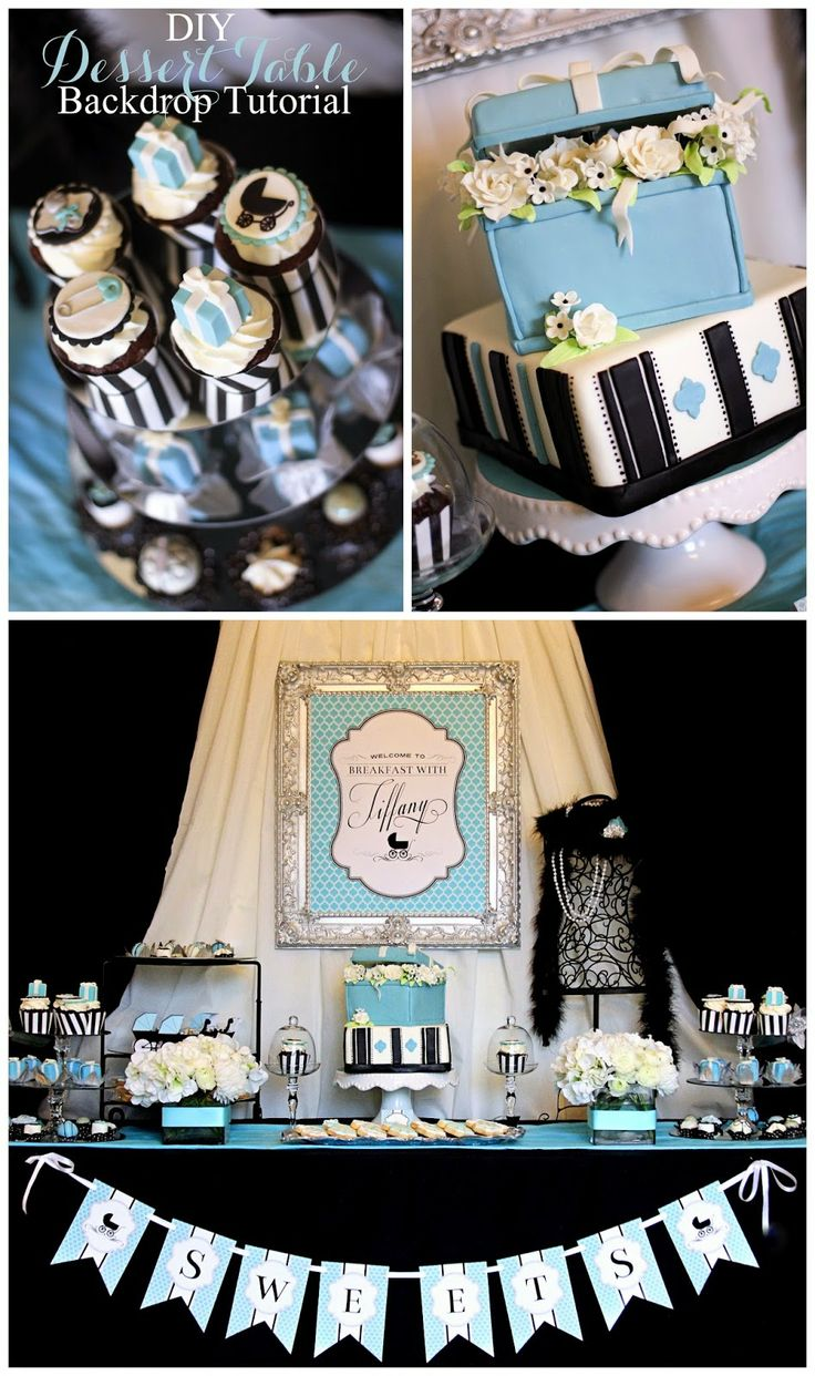 wedding shower candy buffet ideas%0A Plain white with the dyed fabric draped