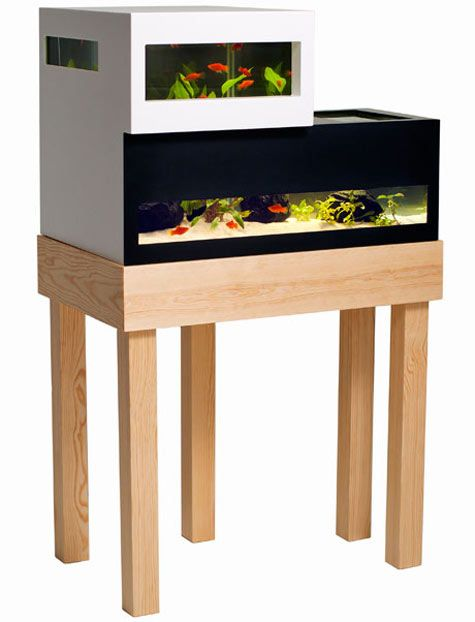 Image above: Modern housing for even the tiniest members of the family – Archiquarium by Karl Oskar