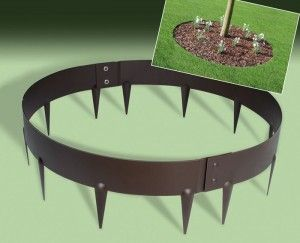 EverEdge Garden Ring - Metal Edging around Trees