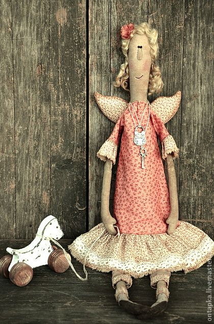 """Ароматизированные куклы ручной работы. Ярмарка Мастеров - ручная работа """"AnGeLiNa"""" Интерьерная примитивная кукла. Handmade."""