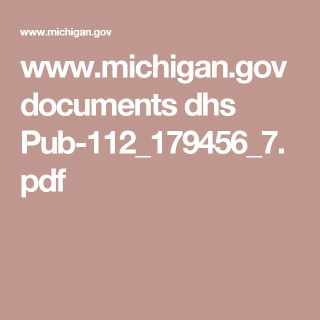www.michigan.gov documents dhs Pub-112_179456_7.pdf