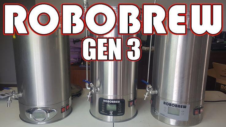 NEW!! ROBOBREW GEN 3 - Unboxing and Comparisons - Kegland