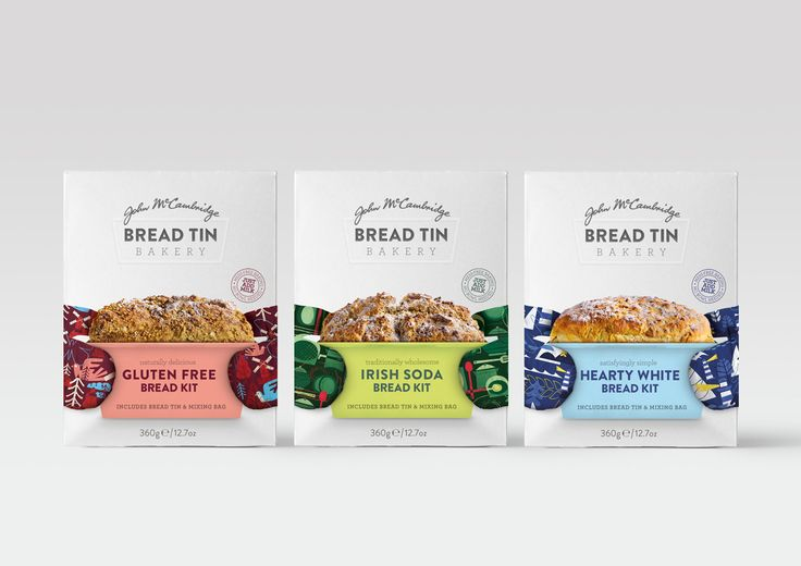 John Mccambridge's 'Bread Tin Bakery' on Packaging of the World - Creative Package Design Gallery
