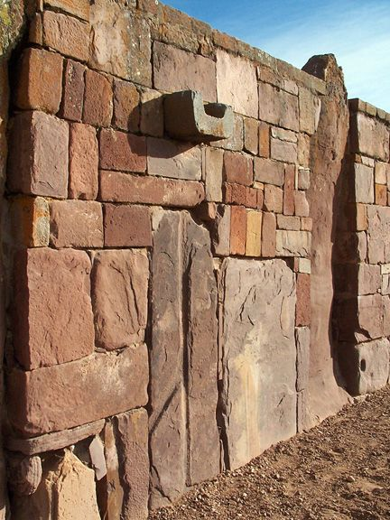 Amazing walls at the pre-Inca ruins of Tiahuanaco. Tiwanaku, is an important Pre-Columbian archaeological site in western Bolivia, South America. Tiwanaku is recognized by Andean scholars as one of the most important precursors to the Inca Empire, ... Wikipedia
