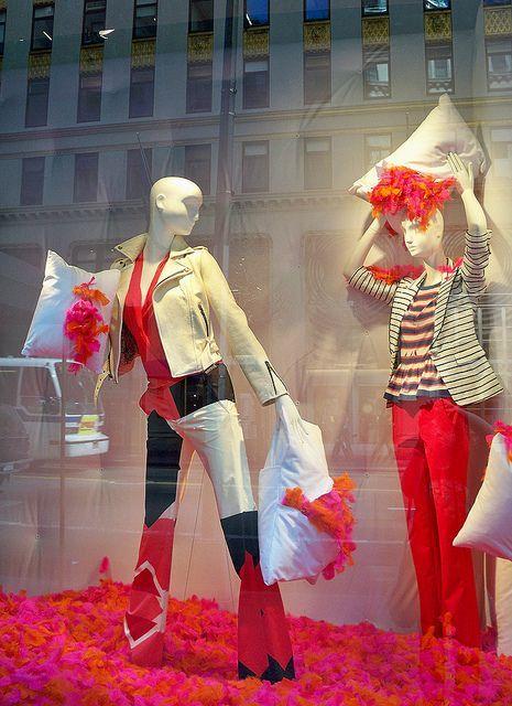 Bergdorf Goodman - photo by Viridia  Pillow Fight
