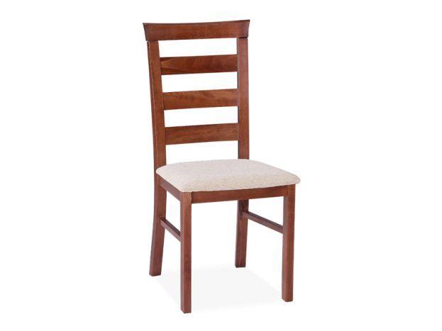 Elegantní čalouněná jídelní židle Alcinia