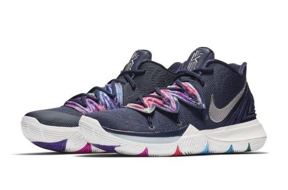 Release Date: Nike Kyrie 5 Multicolor
