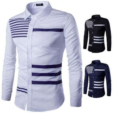 Summer Stripe Long Sleeve Shirt