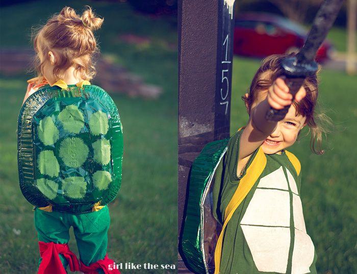 Calling All Kids // Girl ninja turtle