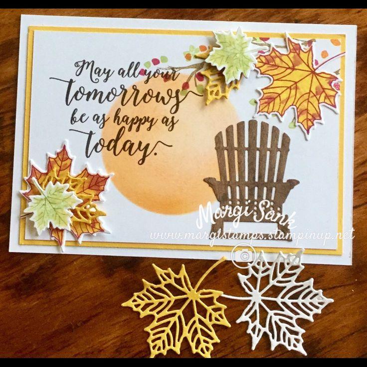 Stampin' Up! Colorful Seasons and Seasonal Layers Fall Card