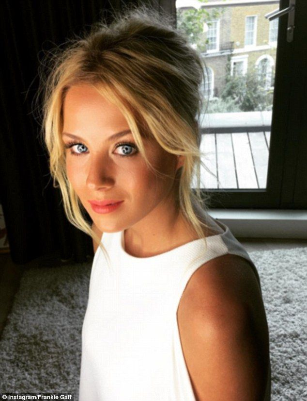 Made in Chelsea star Frankie Gaff, 22, has baffled fans with a series of stunning Instagra...