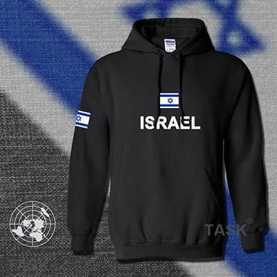 Israel Hoodie Men Sweatshirt Polo Football Jersey Tracksuit Israeli Flag Il Fleece