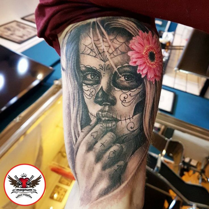 Sick piece by Lord Nelson created with #magnumtattoosupplies!