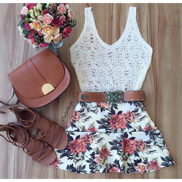 In love ...  • Regata Tricot Off white R$: 5͟9͟,͟0͟0 • Saia floral Peplum no Neoprene {P/M/G} R$: 7͟9͟,͟0͟0.  Vendas online através do site:  www.lalet.com.br (Link clicável na bio) Pagamento ↠ Cartão ou boleto.  Vendas Whatsapp: ✆ (62) 9278-4098 ↠ Depósito ou transferência.  E-mail: laletloja@gmail.com  Telefone fixo: ☏ (62) 3291-0640  Horário de funcionamento da loja: Segunda a sexta das 09:00 ás 19:00. Sábado das 08:00 ás 20:00. Domingo das 08:00 ás 13:00.