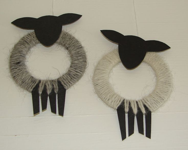 sheep - super cute for ornaments im gonna add a ribbon or a flower in the mouth. love it. Farmer Sue TheArtBarn