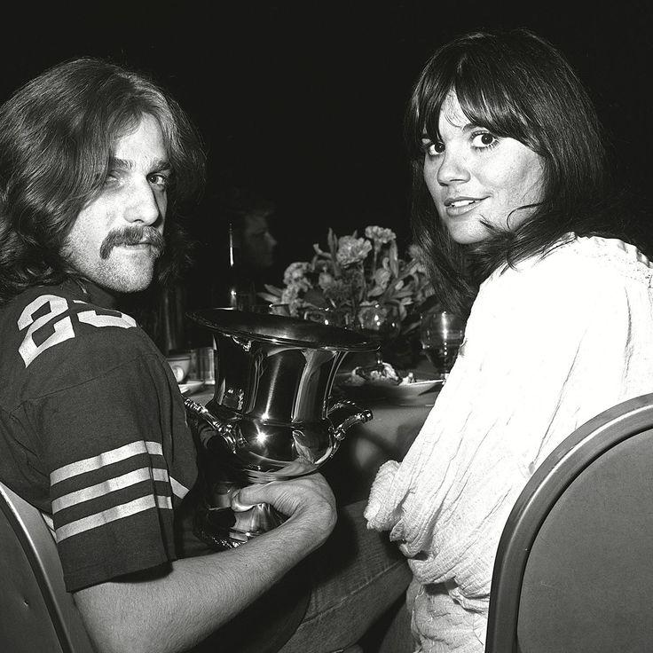 Taking it easy . . . Glenn Frey and Linda Ronstadt