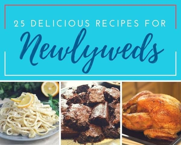 Now that you've done that whole marriage thing, tackling these delicious recipes shouldn't be a problem. From breakfast to dinner to dessert, these are recipes any newlywed should be able...