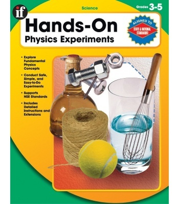 Hands-On Physics Experiments Resource Book - Carson Dellosa Publishing Education Supplies