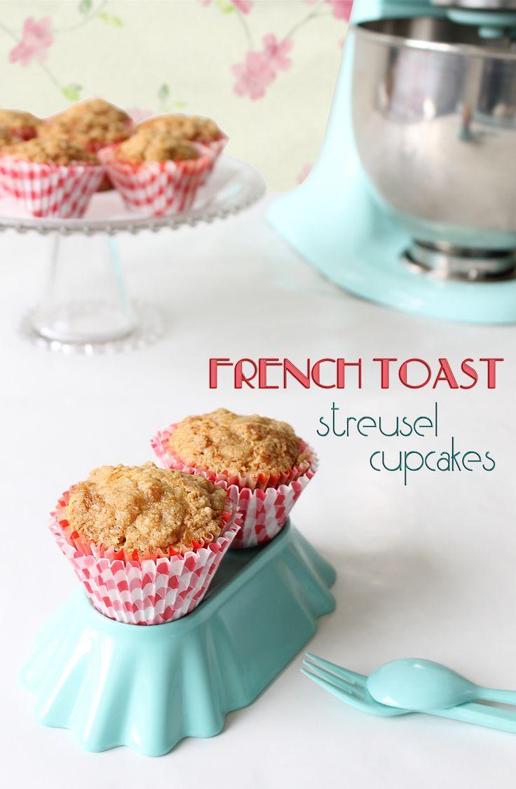 Streusel French toast cupcakes (o magdalenas de canela con cobertura crujiente) - Martensitak