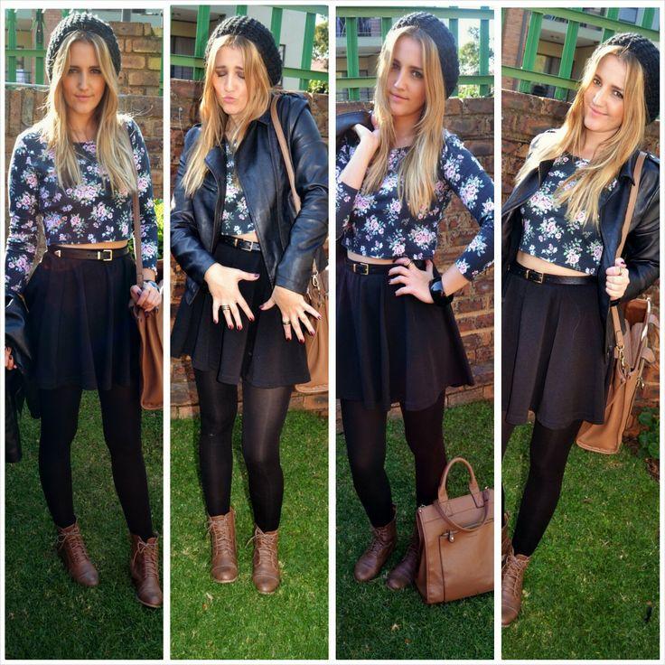Skater Skirt Obsession!  3 Different ways to wear a Skater Skirt...