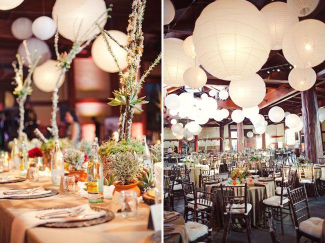 tables: small around large arangement