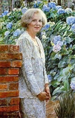 A painting by June Blackstock.