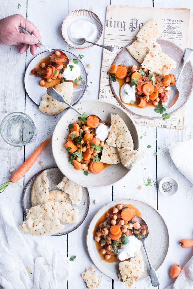 Vegan Moroccan Chickpea Stew - the Little Plantation blog