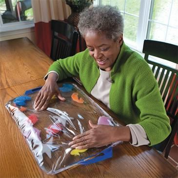 Alzheimer's Soothing Pat Mat.Sensory Stimulation that Calms Instantly. | eBay