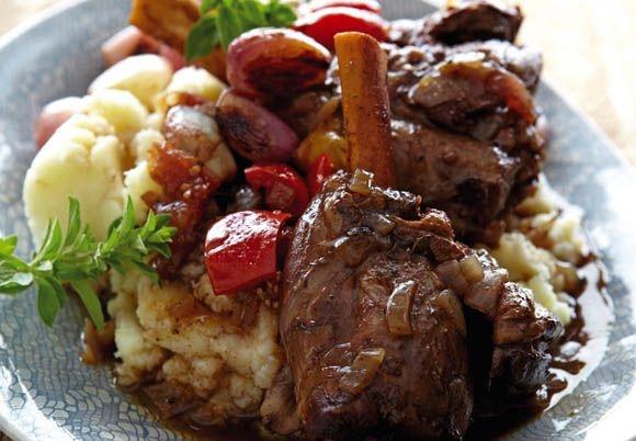 Kobus Wiese's Karoo Lamb Shanks