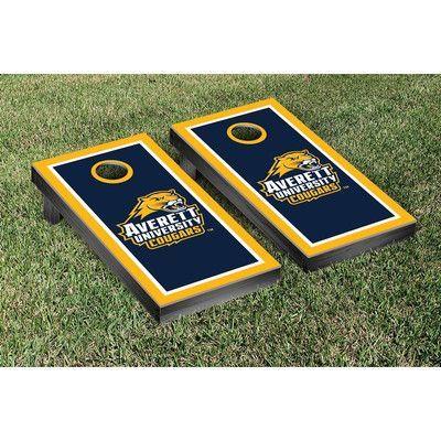 Victory Tailgate NCAA Cornhole Game Set NCAA Team: Averett University Cougars