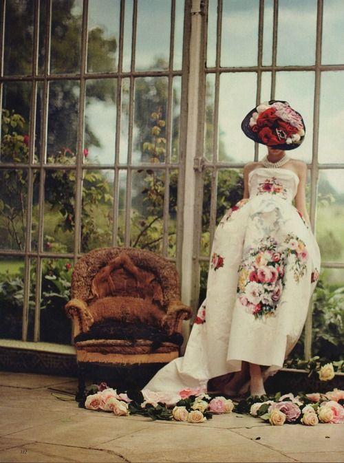 Karlina Caune by Boo George forVogue UK (October 2012).