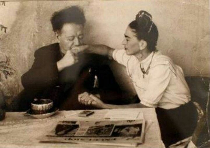 I love you more than my own skin. Frida to Diego