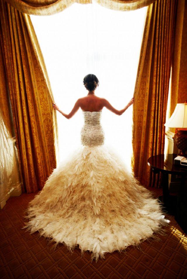 Veren jurk , apart maar mooi !