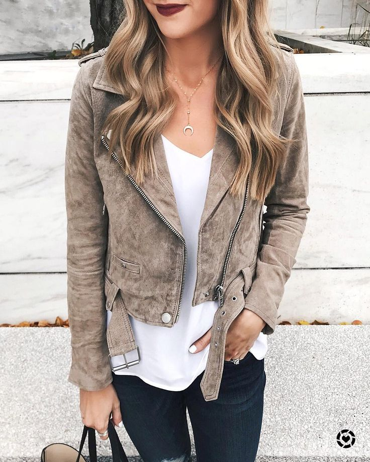 In case you missed it I shared this look on my blog yesterday! How good is this suede beauty?! If you dont have one of these jackets yet add it to your Christmas list ASAP or just treat yourself tomorrow is Friday after all. I have 2 colors in this jacket though its the best! | Shop my look on my latest blog post {thestyledpress.com} or with the @liketoknow.it app! http://liketk.it/2to8G #liketkit