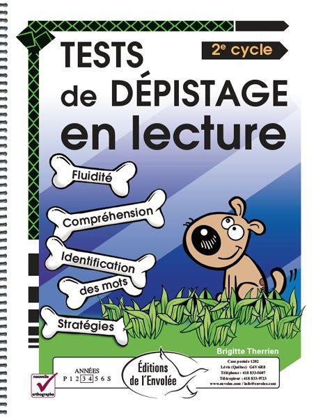 Tests de dépistage en lecture 2e cycle est un outil d'intervention à l'intention des enseignants pour offrir une prise de vue orientée sur un élève en particulier à un moment précis de l'année et sur une dimension spécifique de la lecture.