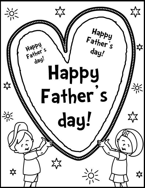 50 best Father\'s Day images on Pinterest | Coloring pictures for ...